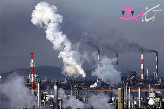 تاثیر آلودگی هوا