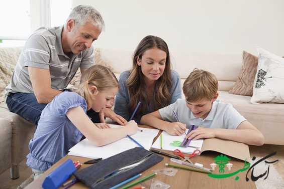 رفتار والدین با کودکان