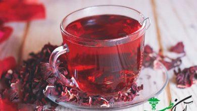 دمنوش چای قرمز