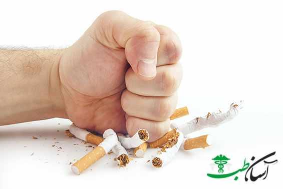 نشانه های ترک سیگار