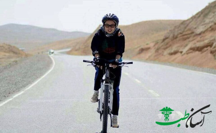 دوچرخه سواران دختر