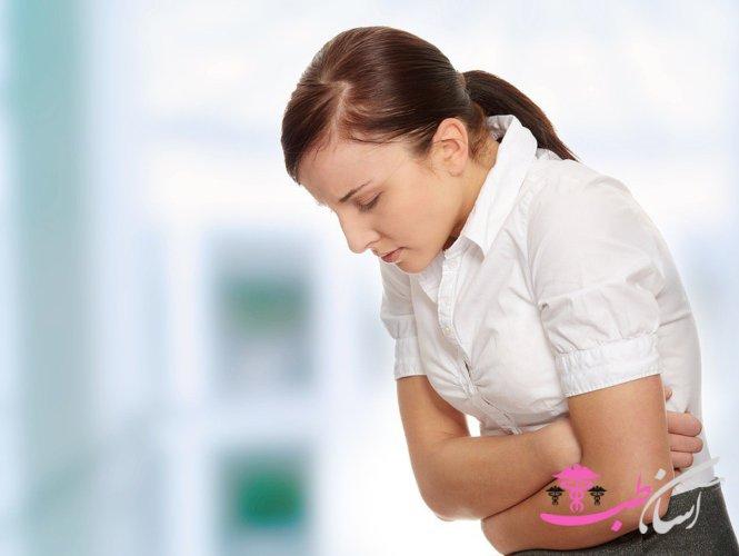 علت درد زیر شکم خانمها