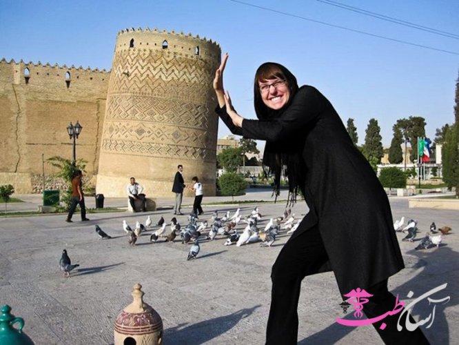 عکسهای گردشگران خارجی در ایران