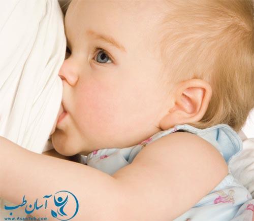 تاثیر شیر دادن بر فرم سینه