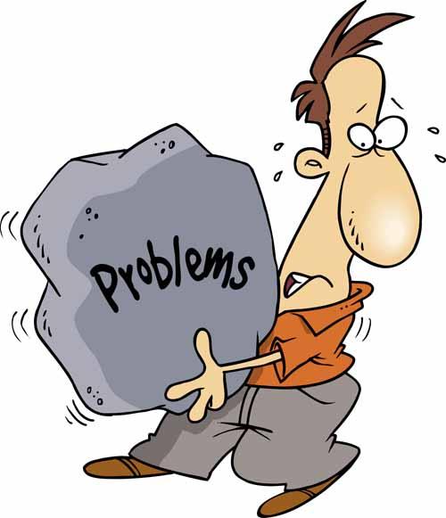 مقابله با مشکلات