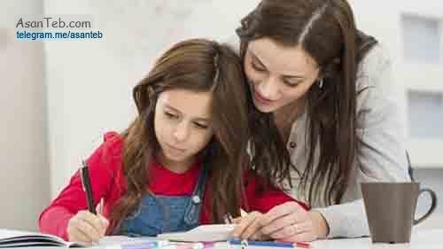 کمک به کودک در انجام تکالیف مدرسه