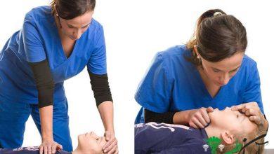 آموزش تنفس مصنوعی کودکان بالای یک سال