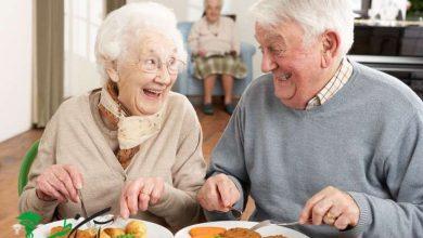 رژیم غذایی افراد مسن