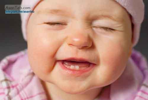 رشد دندان در نوزادان
