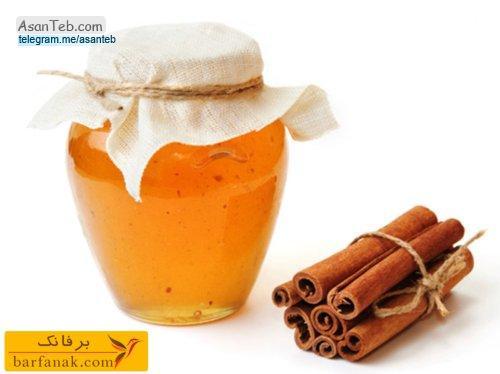 14 خواص عسل با دارچین با بخوانید