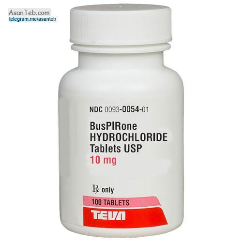 قرص بوسپیرون برای چیست و عوارض بوسپیرون (Buspirone) داروی ضد اضطراب