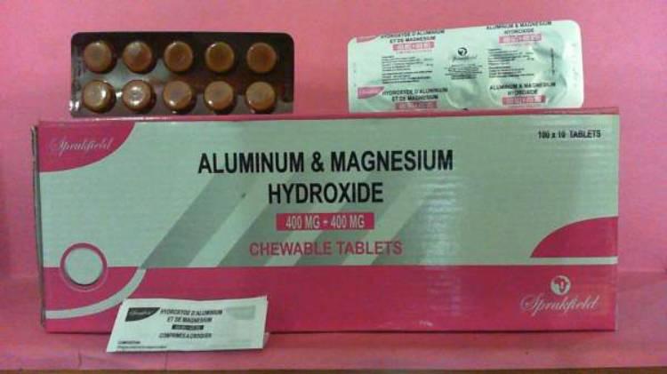 داروهیدروکسید آلومینیوم