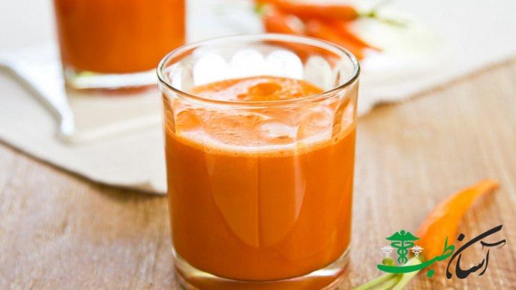 خواص آب هویج و فواید آب هویج