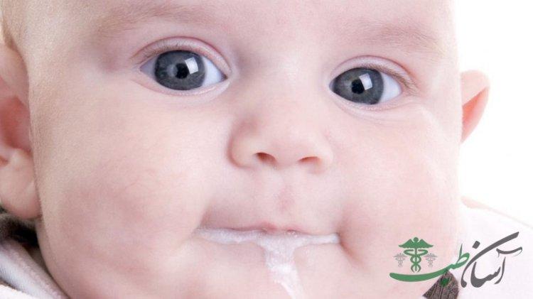 درمان رفلاکس معده نوزاد
