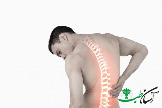 درد پشت بدن