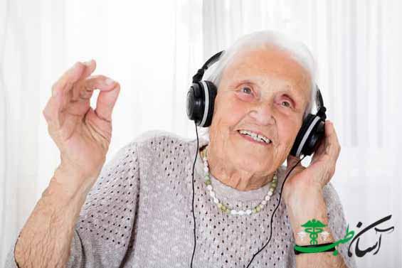 تاثیر موسیقی بر سالمندان